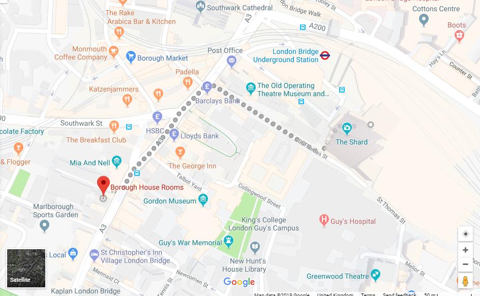 Borough House Location